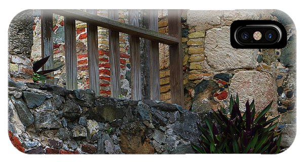 Annaberg Ruin Brickwork At U.s. Virgin Islands National Park IPhone Case