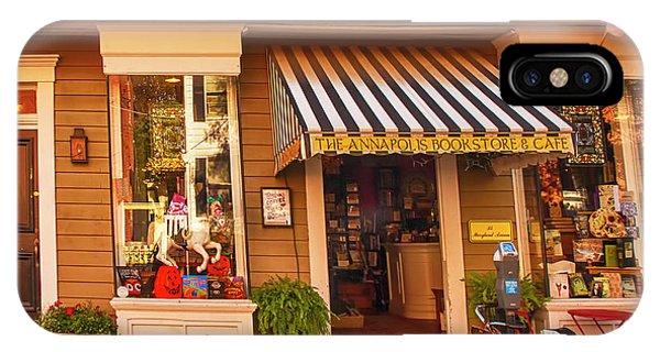 Annapolis Bookstore IPhone Case