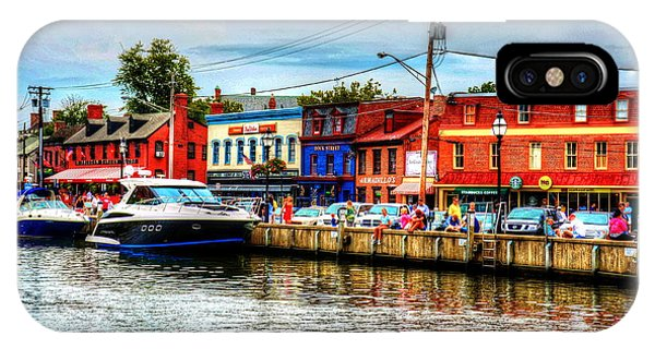 iPhone Case - Annapolis City Docks by Debbi Granruth