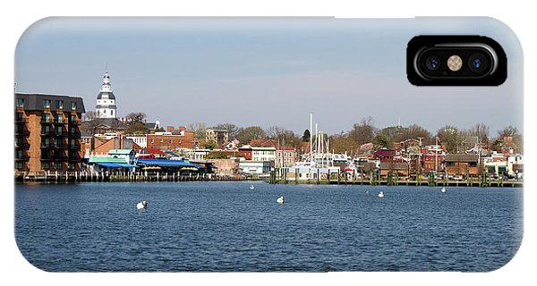 IPhone Case featuring the photograph Annapolis City Skyline by Steven Frame