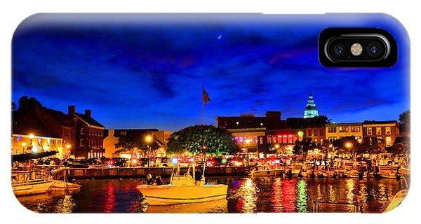 Annapolis Magic Night IPhone Case