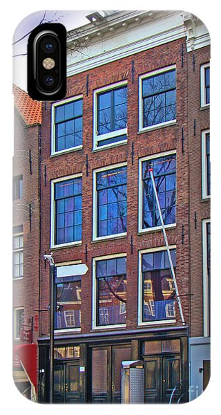 Anne Frank Home In Amsterdam IPhone Case