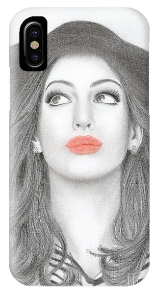 Anne Hathaway IPhone Case