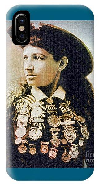Annie Oakley - Shooting Legend IPhone Case
