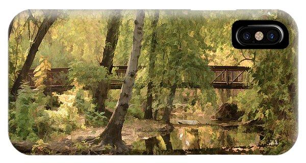 Annie's Glen Bridge IPhone Case
