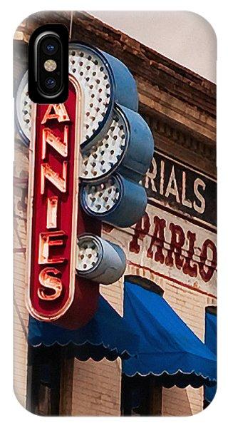 Annies U Of M IPhone Case