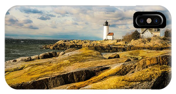 Annisquam Harbor Light IPhone Case