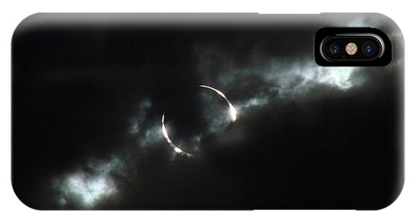 Annular Eclipse Ring Of Fire 2012 IPhone Case
