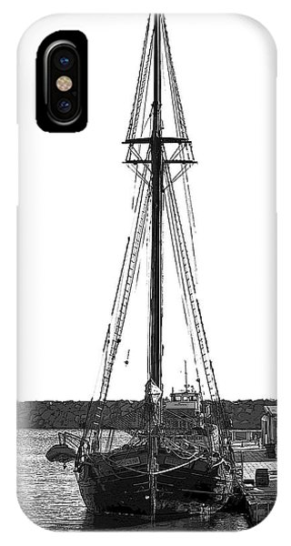 Anomaly Ship Poster IPhone Case