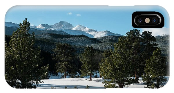 Another Beautiful Day In Rocky Mountain National Park - 0612 IPhone Case