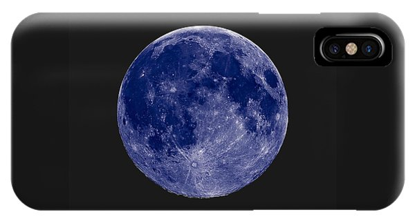 Another Blue Moon IPhone Case