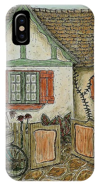 Another Crooked Cottage IPhone Case