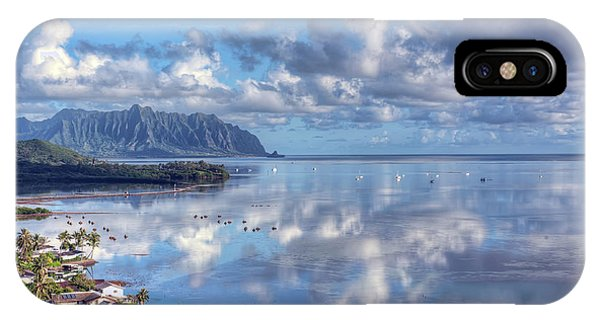 Another Kaneohe Morning IPhone Case