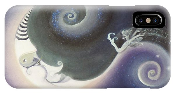 Another Moon Painting Vagabond 2005 IPhone Case