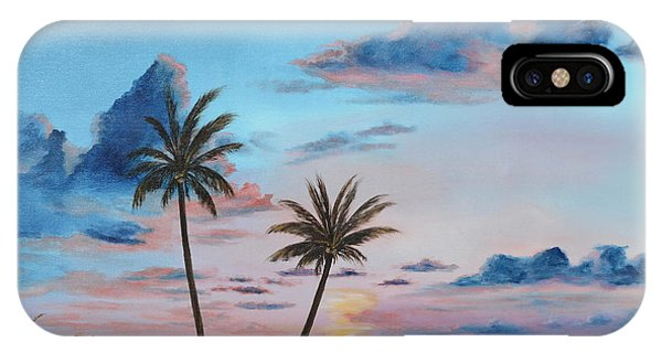 Another Paradise Sunset IPhone Case