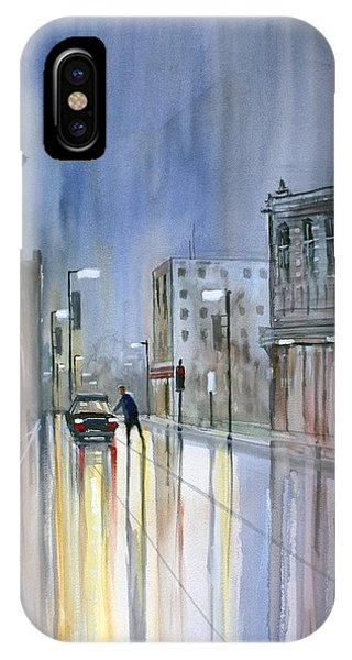 Another Rainy Night IPhone Case
