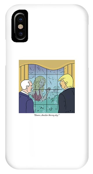 Another Stormy Day IPhone Case