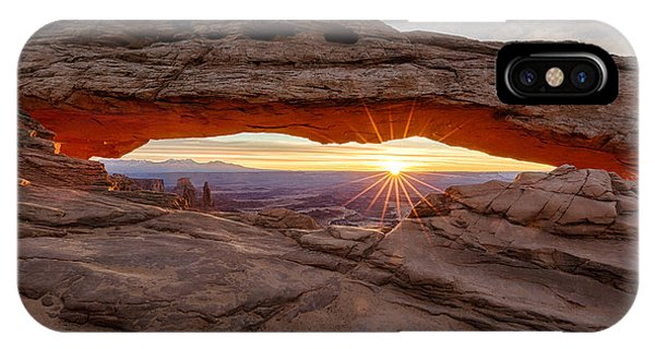 Another Sunrise At Mesa Arch IPhone Case