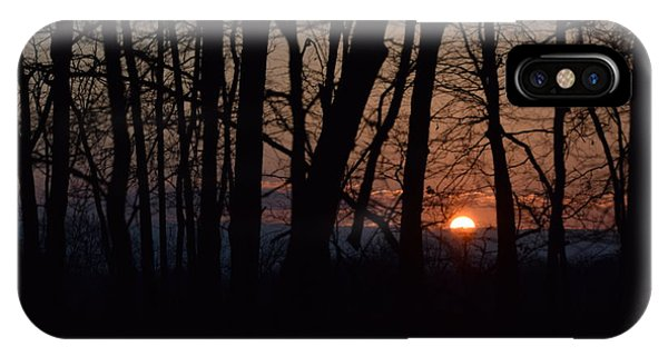 Another Sunrise In The Woods IPhone Case
