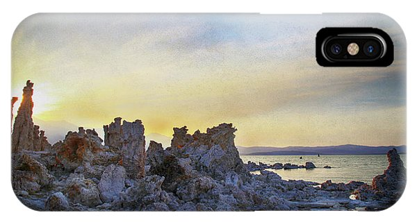 Mono iPhone Case - Another World by Laurie Search
