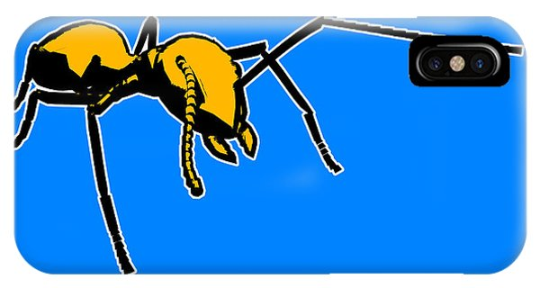 Ant iPhone Case - Ant Graphic  by Pixel  Chimp
