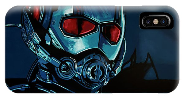 Lilly iPhone Case - Ant Man Painting by Paul Meijering