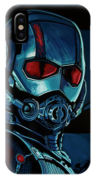 Ant iPhone Case - Ant Man Painting by Paul Meijering