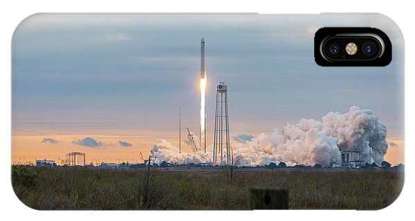 Antares Launch From Wallops Island IPhone Case