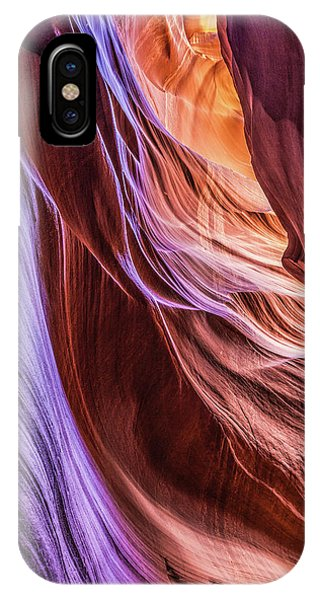 Antelope Canyon Air Glow IPhone Case