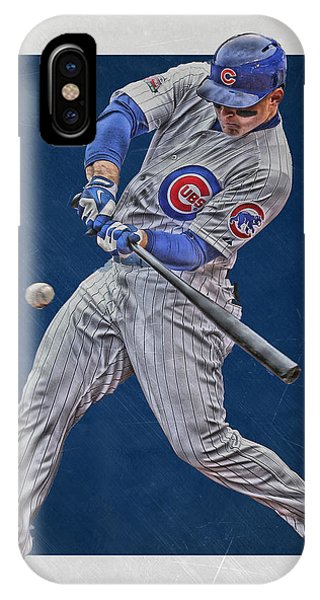 Anthony Rizzo Chicago Cubs Art 1 IPhone Case