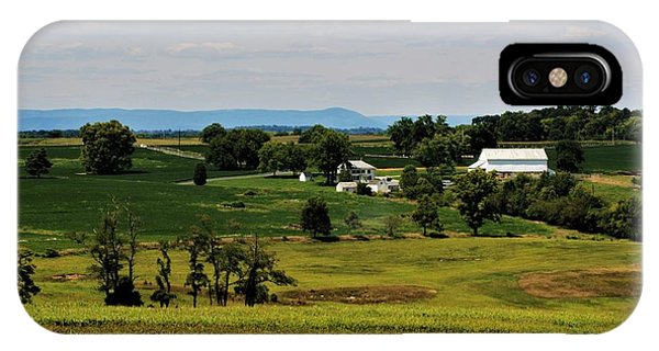 Antietam Battlefield And Mumma Farm IPhone Case