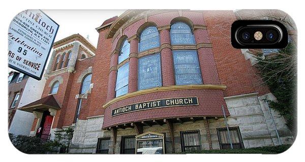 Antioch Baptist Church IPhone Case