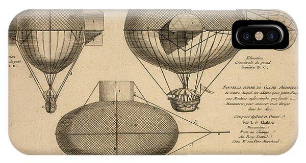 Antique Aeronautics IPhone Case