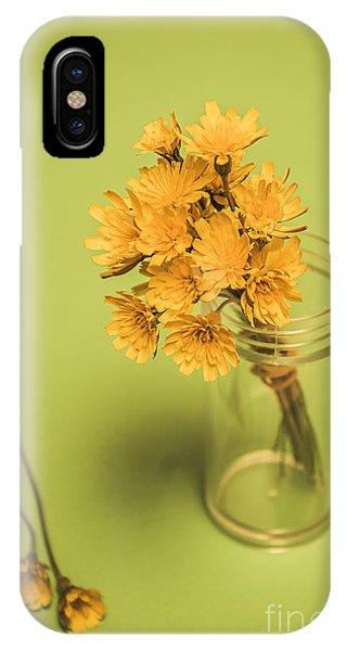 Antique Blooms IPhone Case