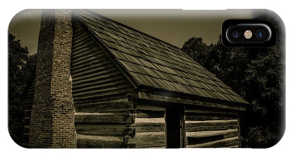 IPhone Case featuring the photograph Antique Cabin - The Hermitage by James L Bartlett