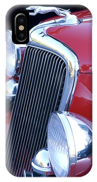 Antique Car Hood Ornament IPhone Case