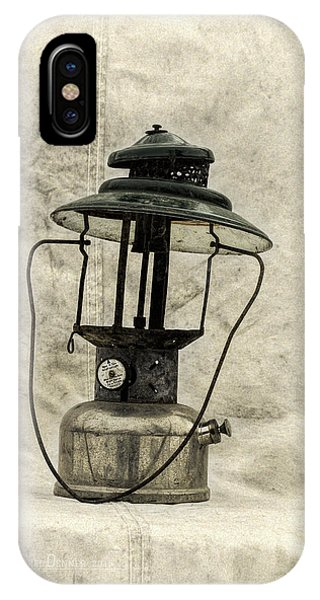 Antique Coleman Lantern IPhone Case