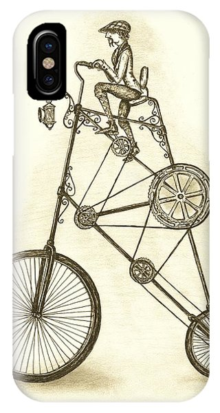 Antique Contraption IPhone Case