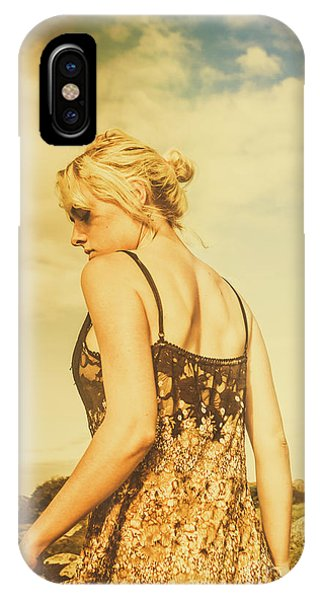 Blond iPhone Case - Antique Country Adventure by Jorgo Photography - Wall Art Gallery