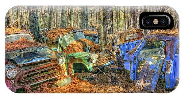 Antique Trucks IPhone Case
