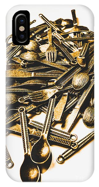 Eating iPhone Case - Antique Feast by Jorgo Photography - Wall Art Gallery
