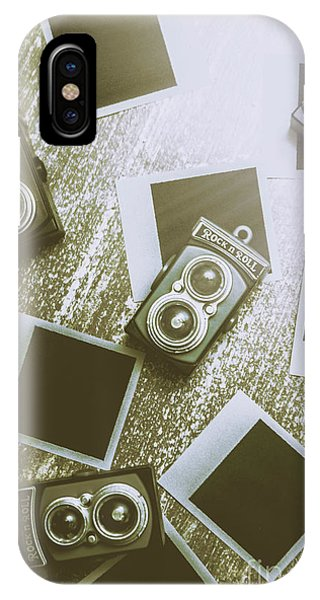 Vintage Camera iPhone Case - Antique Film Photography Fun by Jorgo Photography - Wall Art Gallery