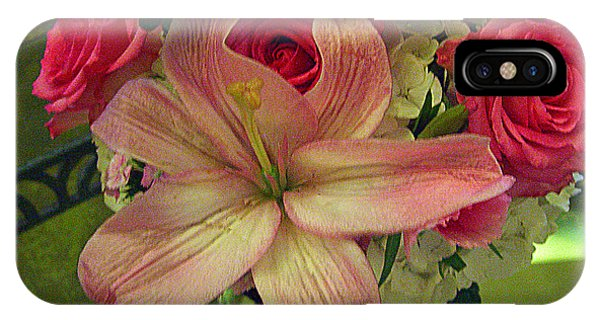 Antique Floral Masterpiece IPhone Case