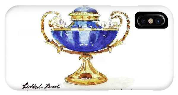 Lid iPhone Case - Antique French Bowl by Masha Batkova