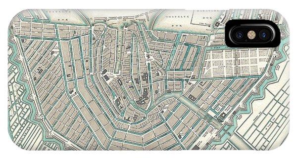 Relief Maps IPhone Cases Fine Art America - Antique maps amsterdam