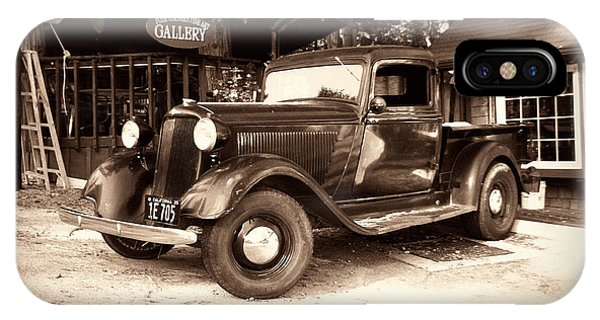 Antique Road Warrior - 1935 Dodge IPhone Case