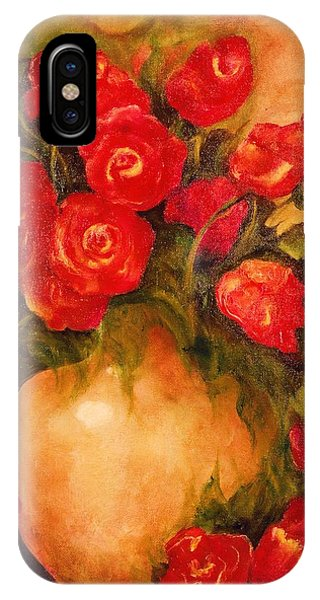 Antique Roses IPhone Case