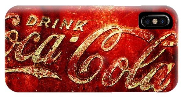 Antique Soda Cooler 2a IPhone Case