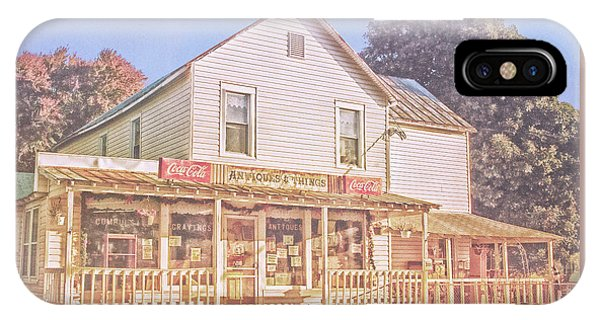 Antique Store, Colonial Beach Virginia IPhone Case