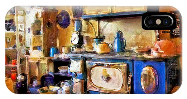 Antique Store Kitchen IPhone Case